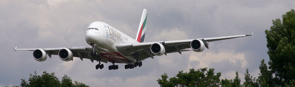 Airbus A380 Emirates Airline